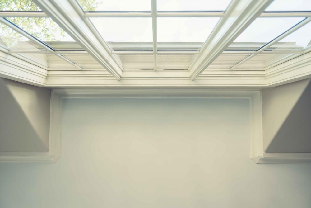 detailed woodwork windows