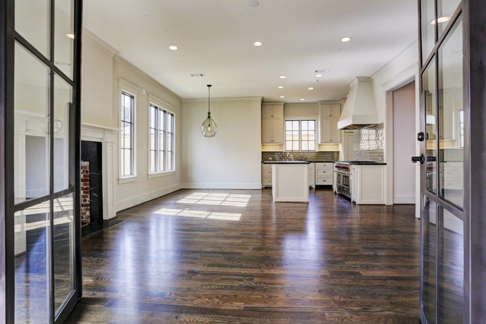 greatroom custom wood flooring