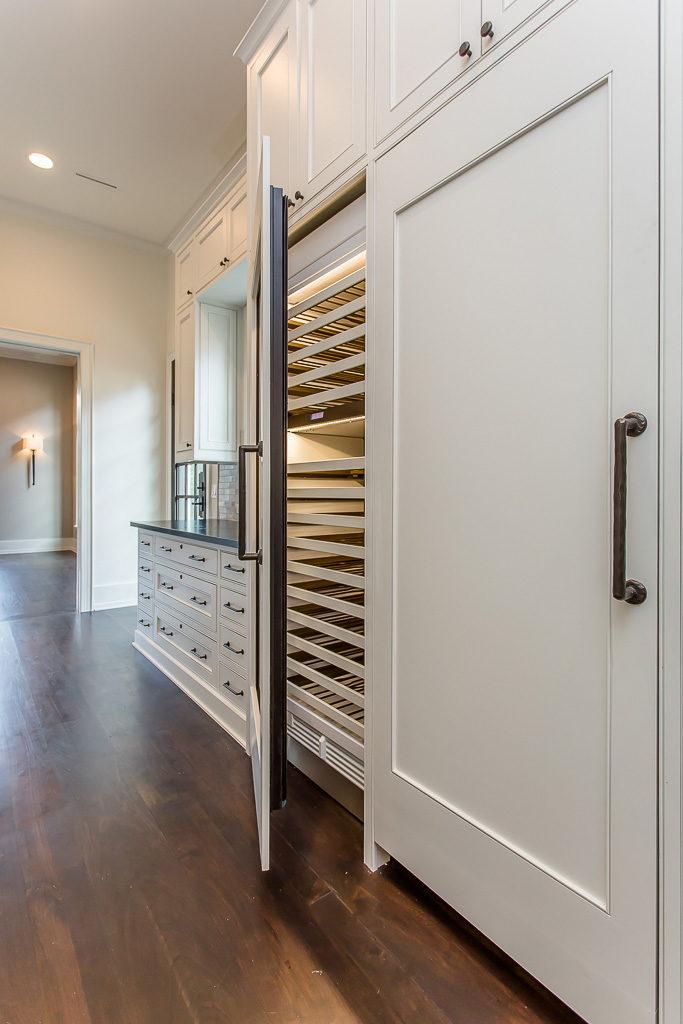 del monte custom home build, Sub-zero wine refrigerator