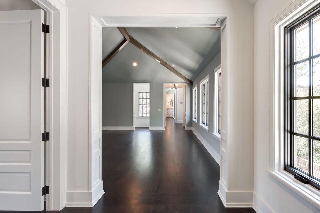 american vernacular style custom home, gameroom, Houston custom home