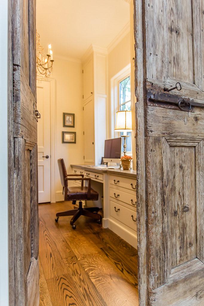 antique doors to office