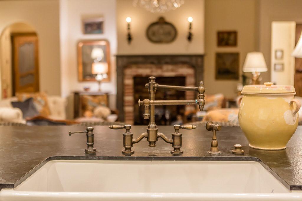 custom home sink