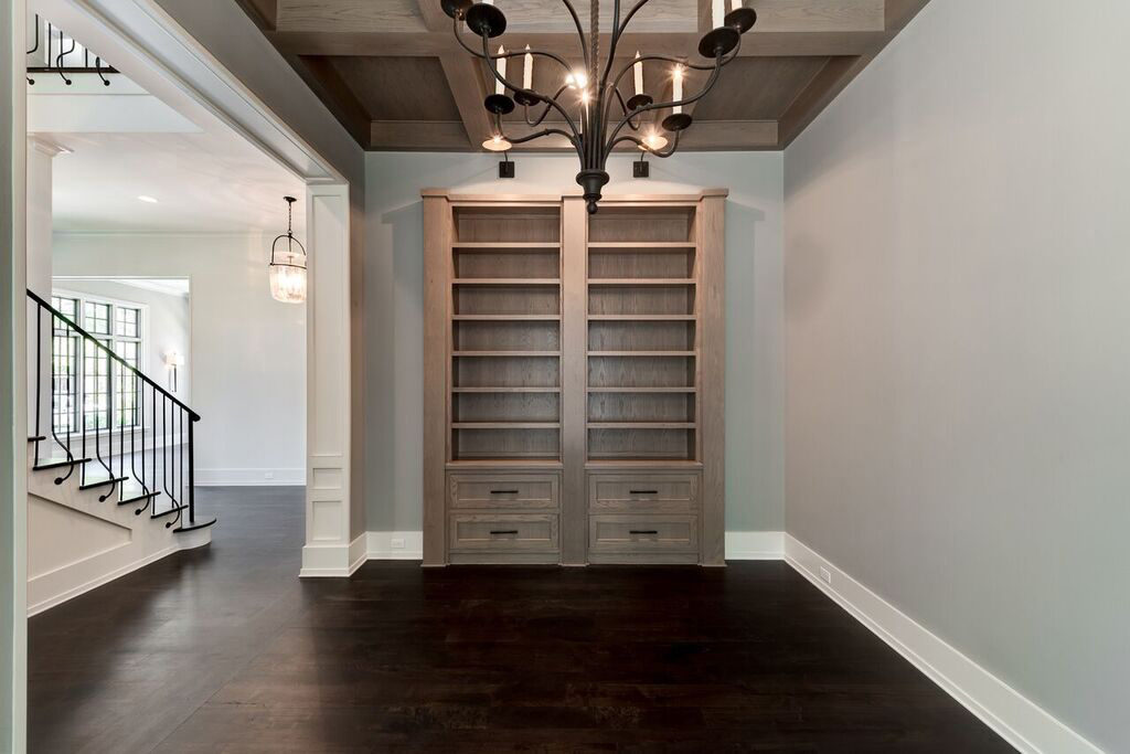 river oaks custom home with formal study