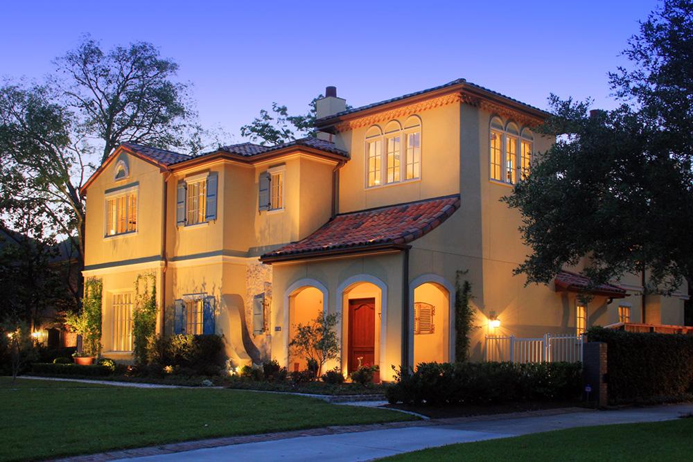 Provencal Style River Oaks home, river oaks