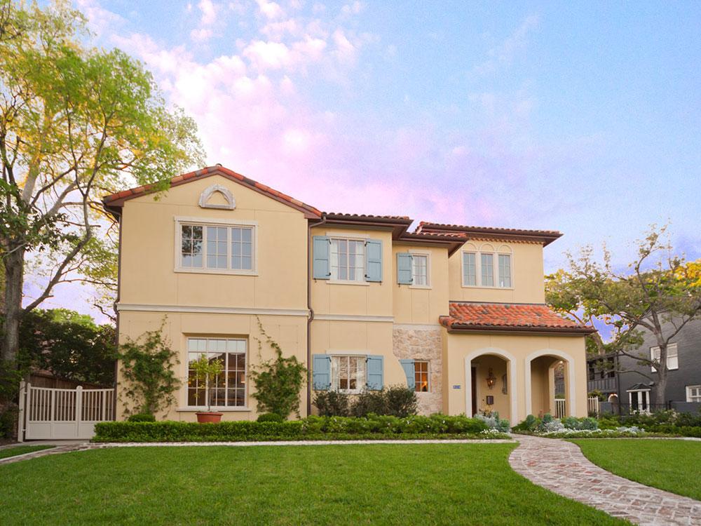 Mirador-French-Provencal, River Oaks Home Builder