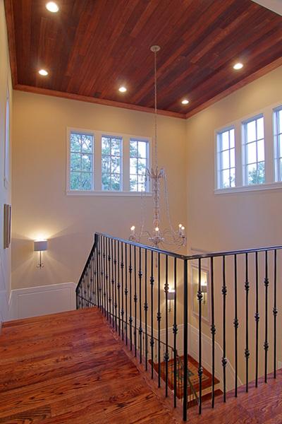 Mirador-French-Provencal-Style-Home, custom banister