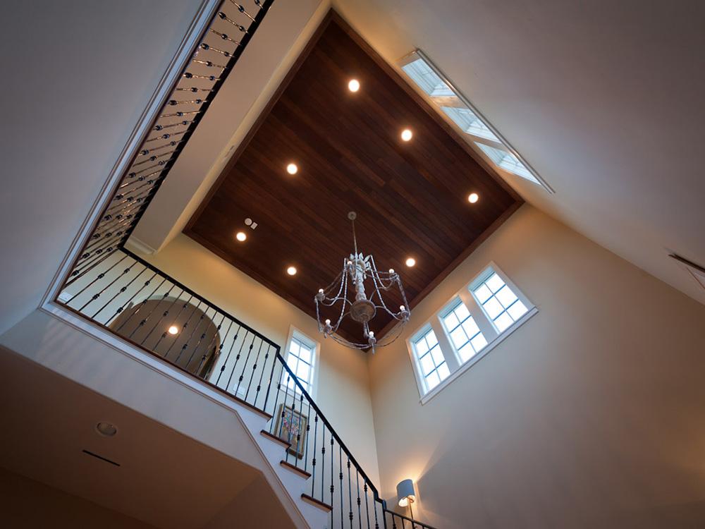 Mirador-French-Provencal, Mirador, custom wood ceiling