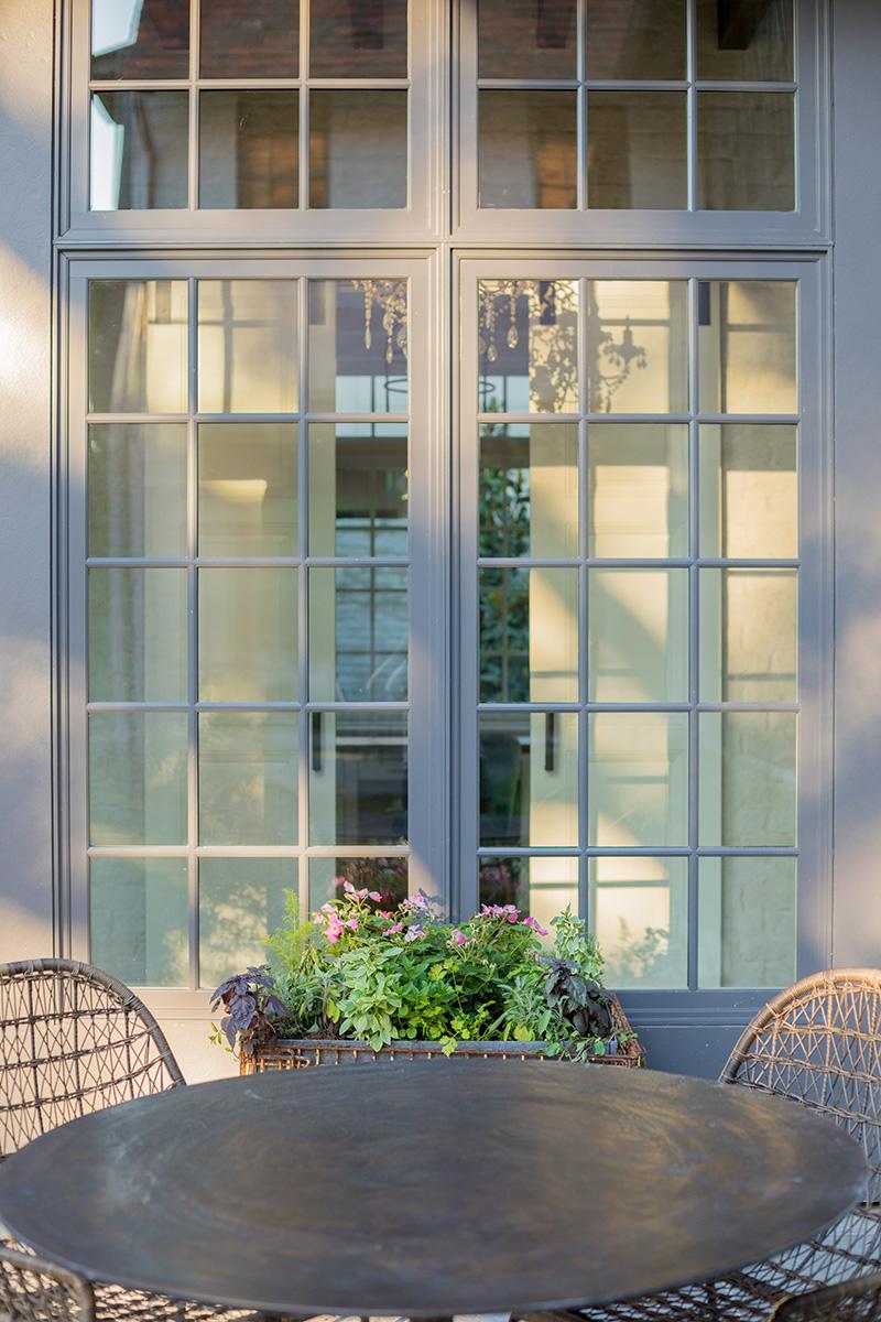 Mirador custom home design, outdoor area
