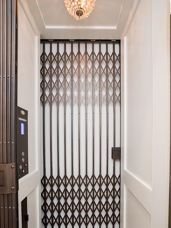 built in elevator