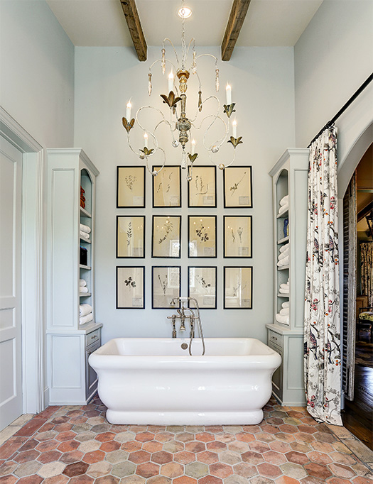 custom built home with luxury master retreat