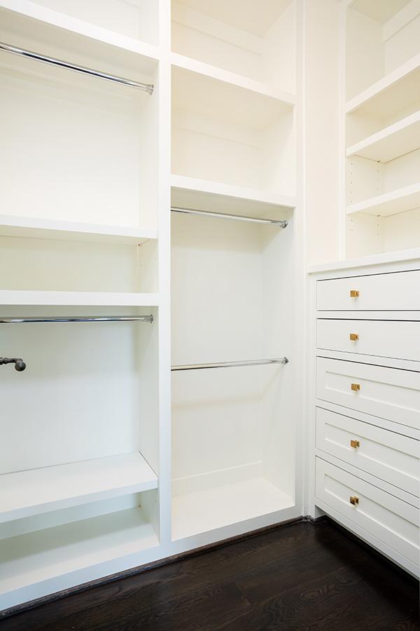 Built-in California Style Closet
