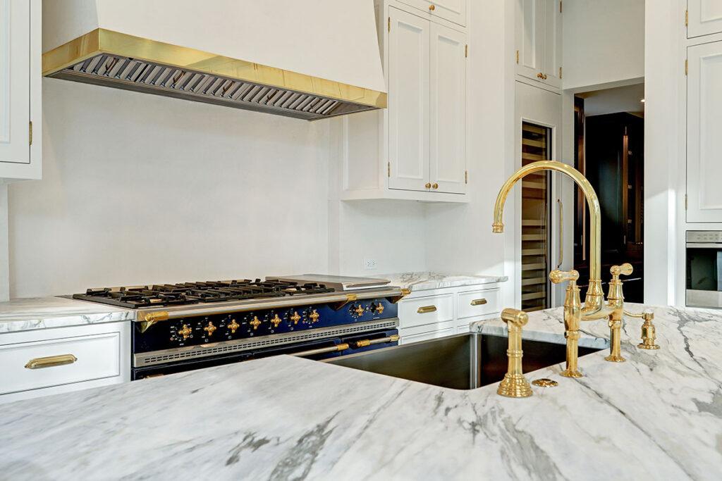 European-Cottage-in-River-Oaks, custom kitchen